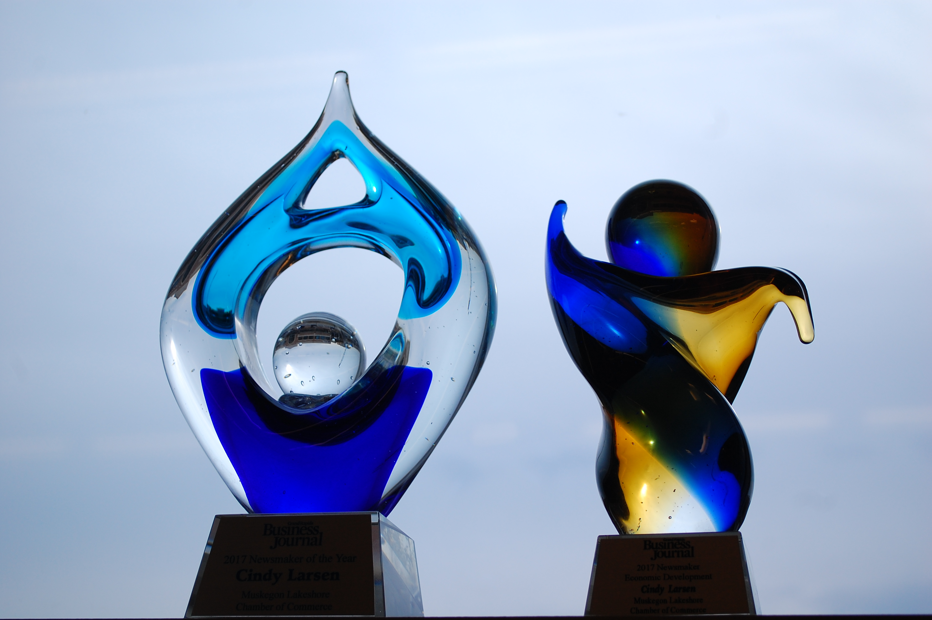 Newsmaker of the Year Awards awarded to the Muskegon Lakeshore Chamber of Commerce