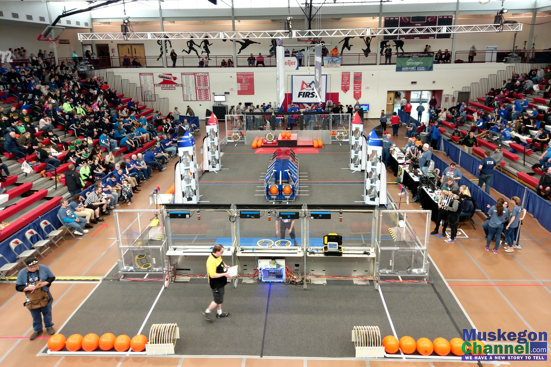 2019 Robotics Competition.